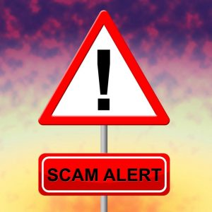 scam-alert-indicates-rip-off-and-advertisement